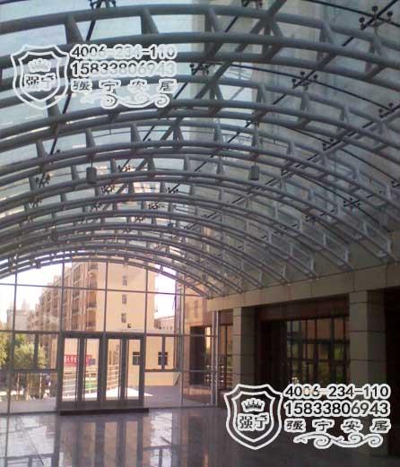 高档钢结构阳光房